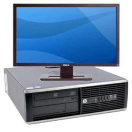 HP 8300 + TFT 24